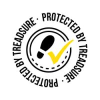Protected By Treadsure,Anti-slip,slip fall protection