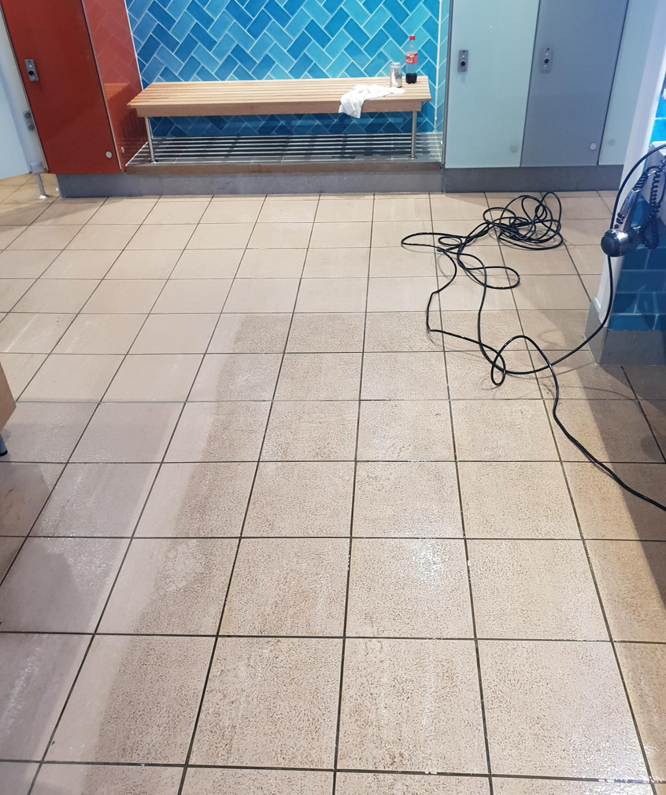 spa floor cleaning