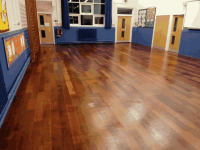 repair timber floors in schools
